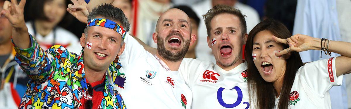 Week-end 200% Rugby : Pays de Galles v Vainqueur Tournoi de Qualification et Angleterre v Japon