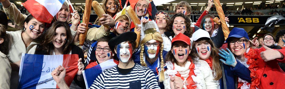 La bodega bleue : France v Amériques 1