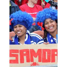 La cantine des supporters : Angleterre v Samoa
