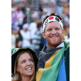La cantine des supporters : Afrique du Sud v Europe 2