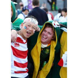 La cantine des supporters : Afrique du Sud v Asie / Pacifique 1