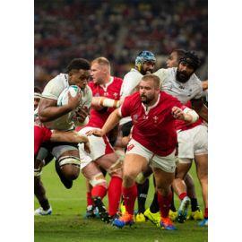 La cantine des supporters : Pays de Galles v Fidji