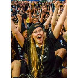 La cantine des supporters : Nouvelle-Zélande v Italie