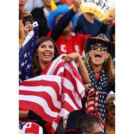 La cantine des supporters : Amériques 1 v Afrique 1